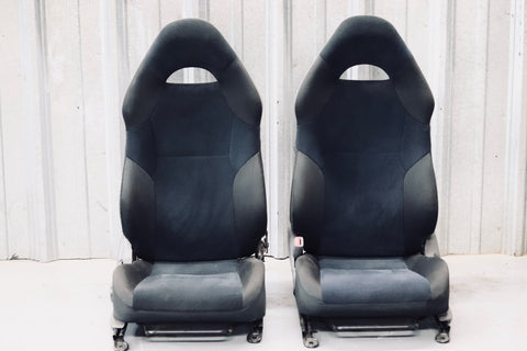 Toyota Celica Cloth Seats Blue-Black-Gray | 2000-2005