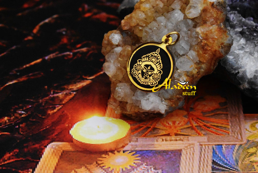 MAA-KAALI-SUPER-AGHORI-SADHU-MADE-BLESSED-PENDANT-ONCE-IN-A-LIFETIME-OFFER  MAA