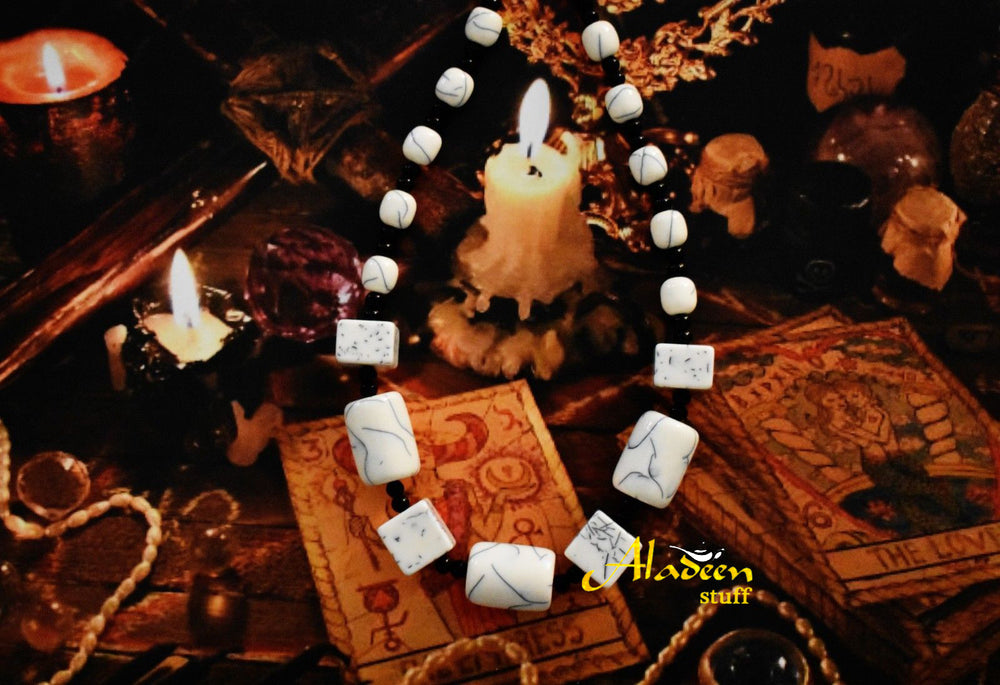 Hindu Power Aghori Kali Ashta Siddhi Necklace Obtain 8 Occult Psychic Powers