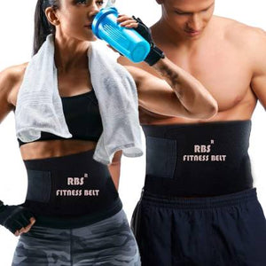 Rapid Tone Abdominal AB Muscle Body Toning Sauna Fitness Belt