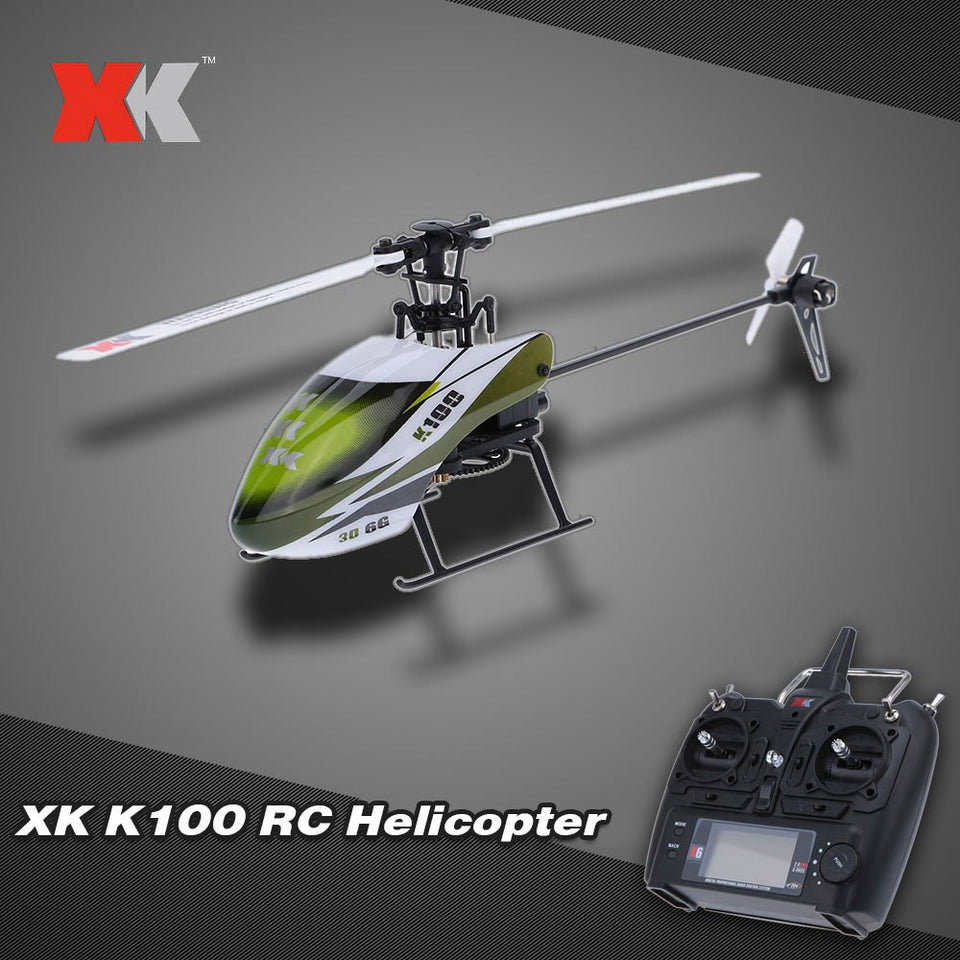 Original XK Falcon K100 RC Airplane 6CH 3D 6G System RTF RC Helicopter