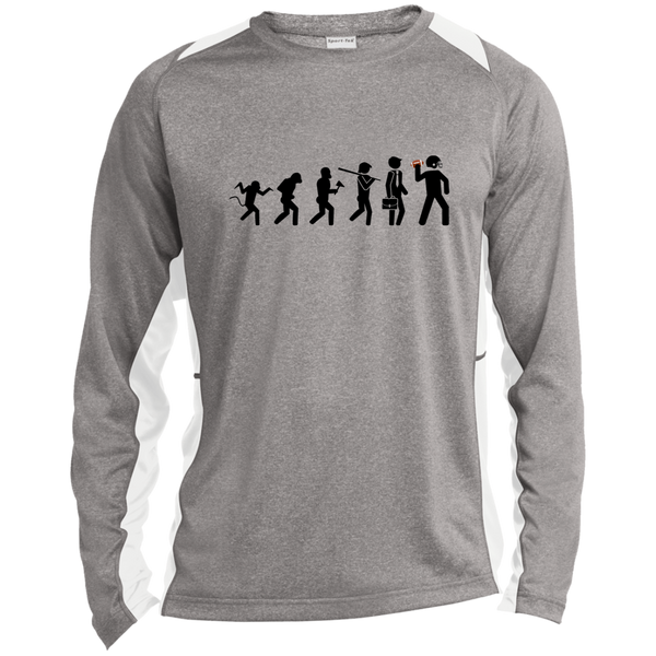 Evolution of Football Sport-Tek Long Sleeve T-Shirt