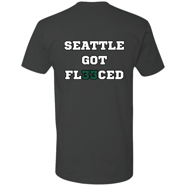 Seattle Got Fleeced T-Shirt (Back)