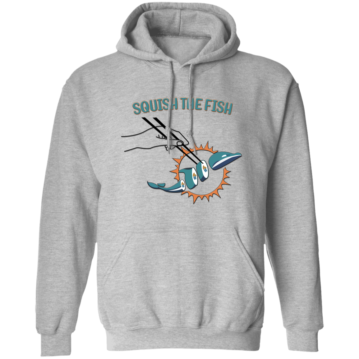 Squish the Fish Hoodie