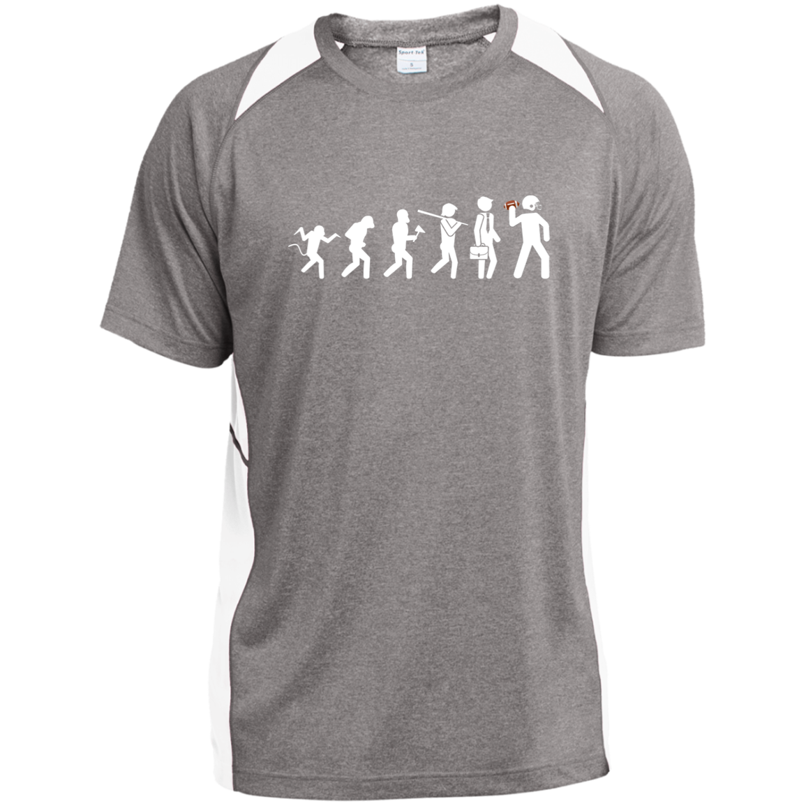 Evolution of Football Sport-Tek T-Shirt