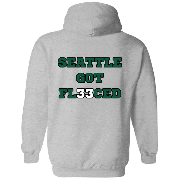 Seattle Got Fleeced Hoodie (Back)