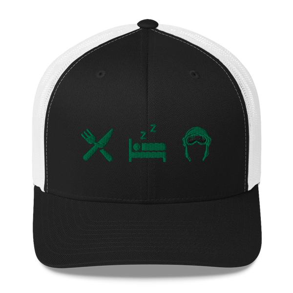 Eat Sleep Pilot - Trucker Cap