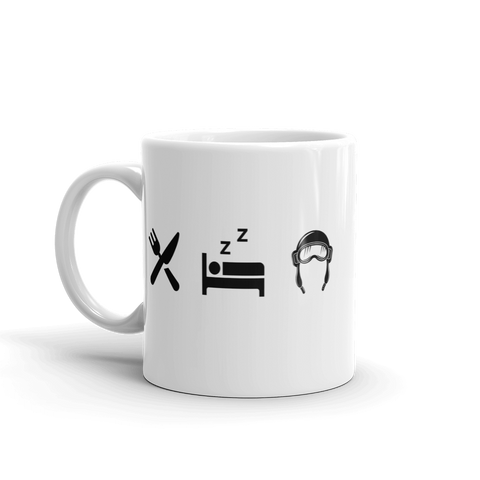 Eat Sleep Pilot Mug