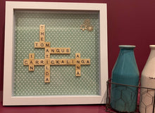 Load image into Gallery viewer, Extra Large Custom Family Scrabble Board