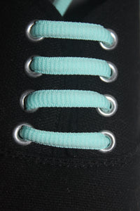 Plain Colour Oval 110cm Shoelaces
