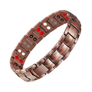 Pure Copper Magnetic Therapy Bracelet For Men