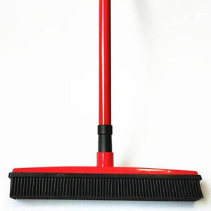 Multipurpose Rubber Broom | Rubber Broom For Pet Hair On Multiple Surfaces