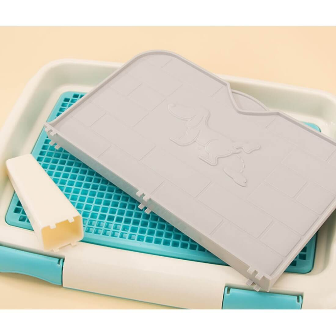 Pet Training Pad Tray For Small Middle Puppy | Indoor Dog Potty Tray