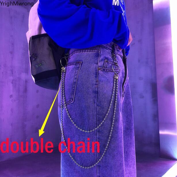Ripped Hole Sexy Baggy Loose Straight Harem Korean Streetwear Harajuku Punk Denim Pant Jeans Vintage Tracksuit Jogger Plus Size