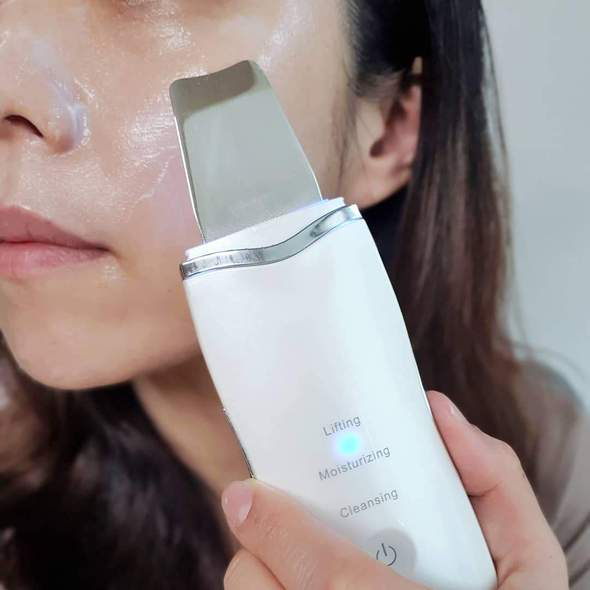 Ultrasonic Deep Face Skin Cleaning Machine