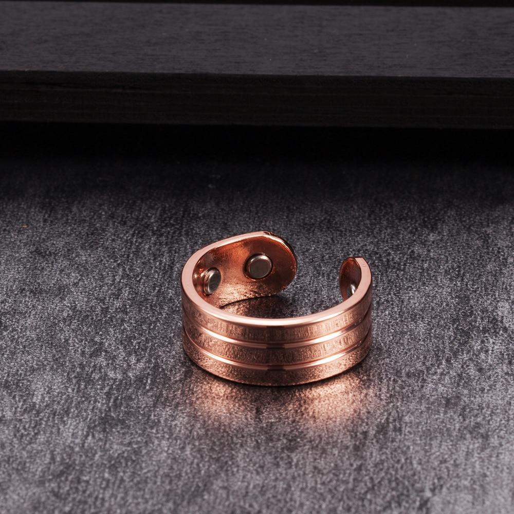 Elegant Pure Copper Magnetic Ring
