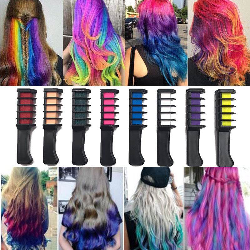 Professional 10 Colors Temporary Hair Dye Set