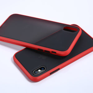 iPhone 11 pro max Anti-shock Frame silicone Case Back Cover