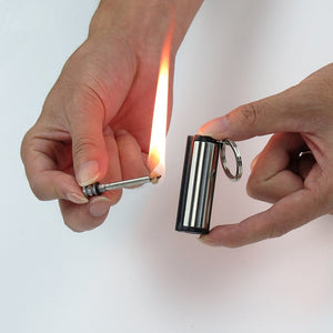 Lighter with Key Chain Outdoor Survival Tools