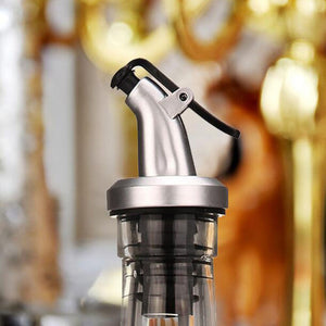 Oil Dispenser Pourer Cap with Flap