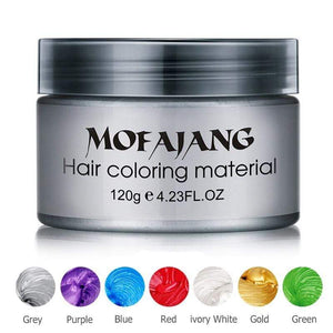 Hair Color Wax Mofajang Temporary Dye
