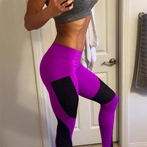 Women's High Waist Yoga Workout Pants