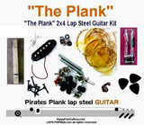 The Plank Lap Steel Guitar Kit. Create your own guitar. Easy instructions. Easy schematic included.