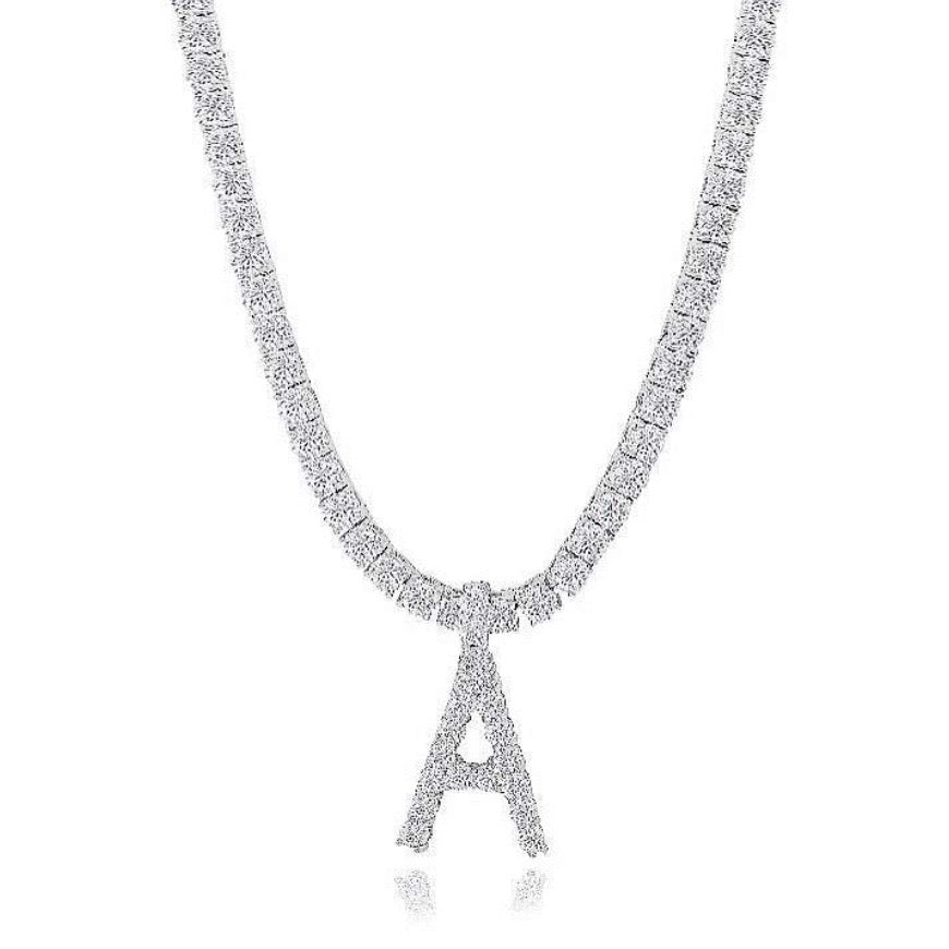 Milana Necklace | Silver