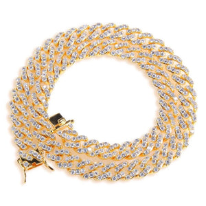 Load image into Gallery viewer, Gold Cuban Link Choker