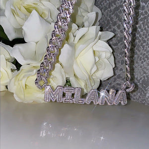 Brooklyn Nameplate Cuban Link
