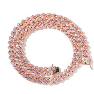 Load image into Gallery viewer, Baby Pink Cuban Link Choker