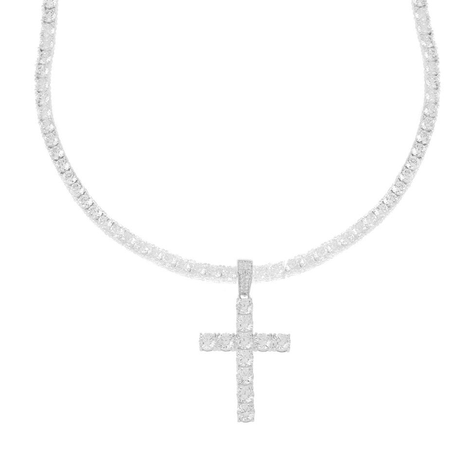 Cross Me Necklace