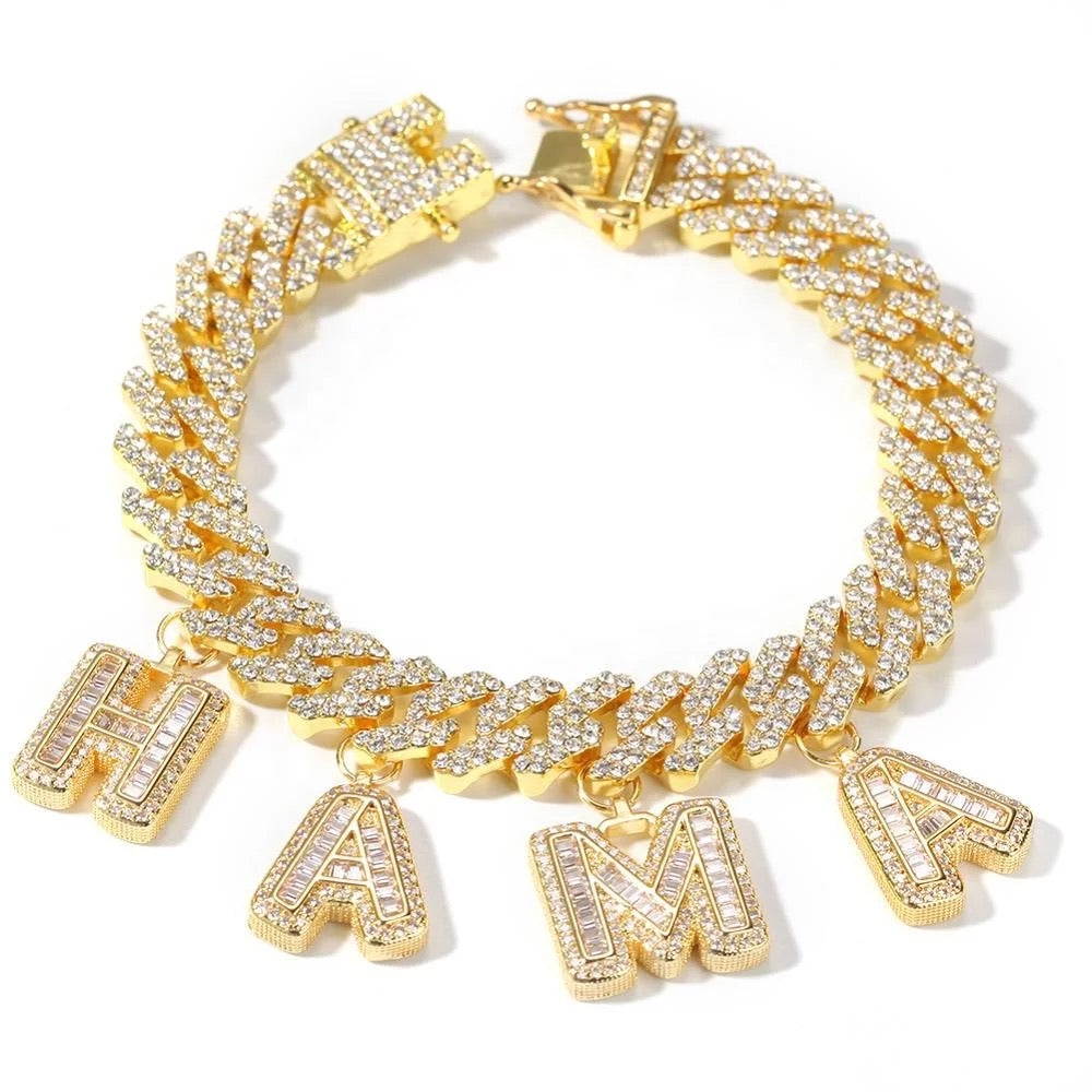 Load image into Gallery viewer, Keaira Cuban Bracelet | Gold