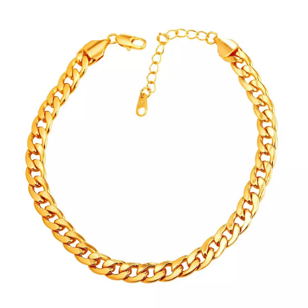 Regular Cuban Link Anklet