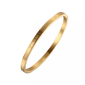 Load image into Gallery viewer, Roman Numeral Bangle | Mini