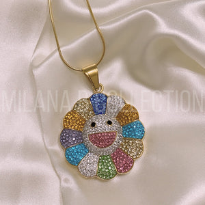 Murakami Flower Necklace