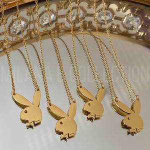 Gold Playboy Necklace