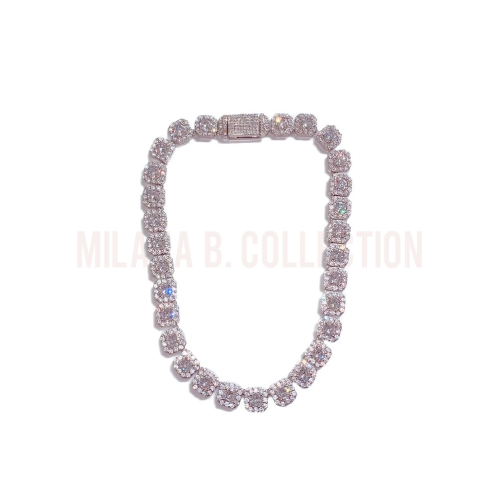 Iced Ivory Diamond Necklace