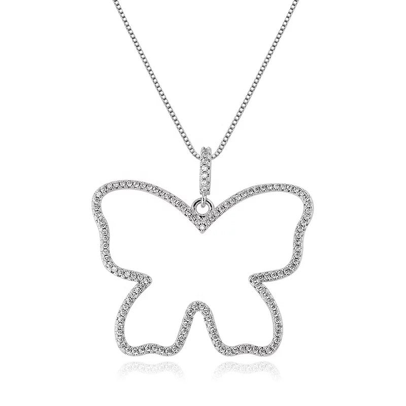 Load image into Gallery viewer, Butterfly Frame Necklace