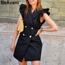 Load image into Gallery viewer, BeAvant: Blazer Dress