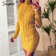 Simplee: Sweater Dress