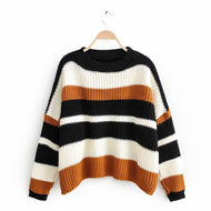 TORCTICY, Round Neck Sweater