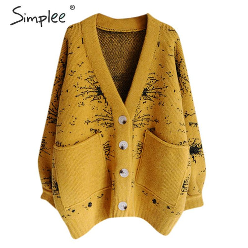 Simplee: Cardigan Sweater