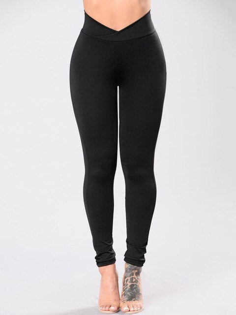 High Waist Stretchy Pants