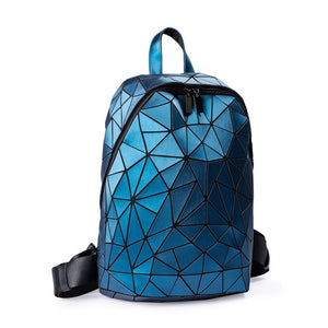 LOVEVOOK women backpack schoolbag for teenage girls luminous geometric backpacks for travel large capacity fashion for ladies