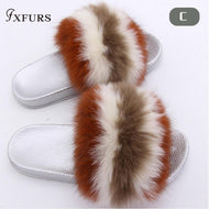 Fox Hair Slippers
