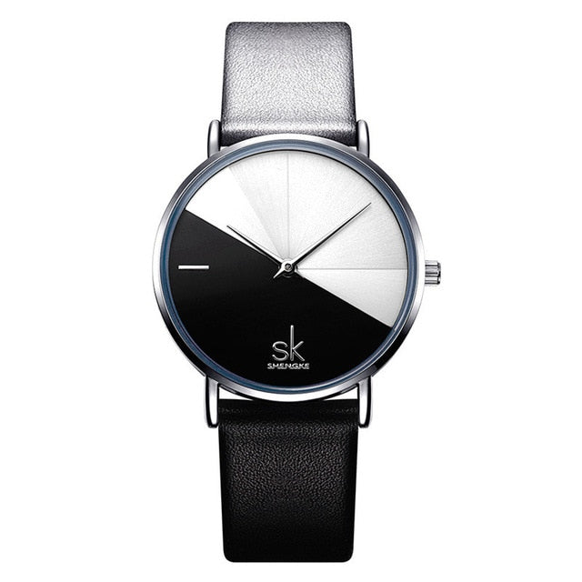 SK: Luxury Leather Watch