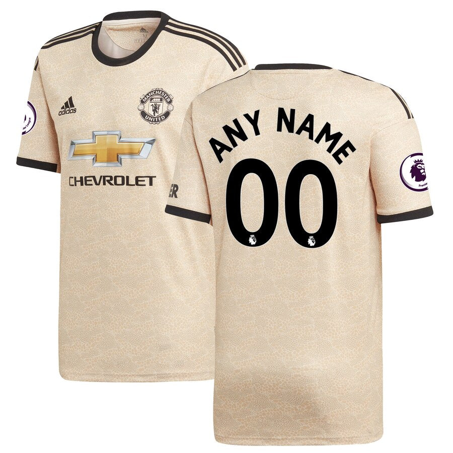 Manchester United Adidas 2019 20 Jersey Tan
