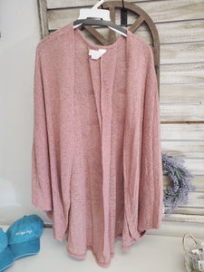 Knit Cardigan- Curvy *Available in 5 Colors*