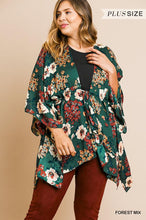Load image into Gallery viewer, Umgee Forest Green Kimono